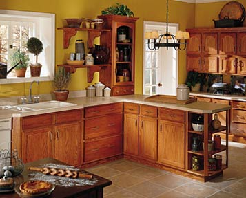 Aristokraft cabinets for Aristokraft oak kitchen cabinets